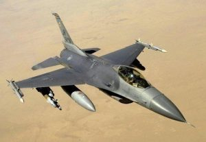 Pesawat F16 Fighting Falcon